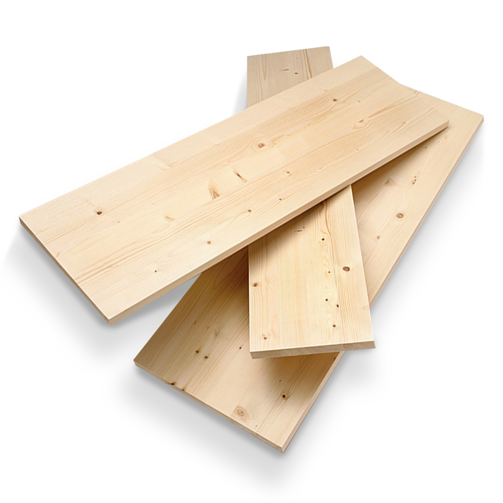 18mm Solid Whitewood Pine Furniture Board