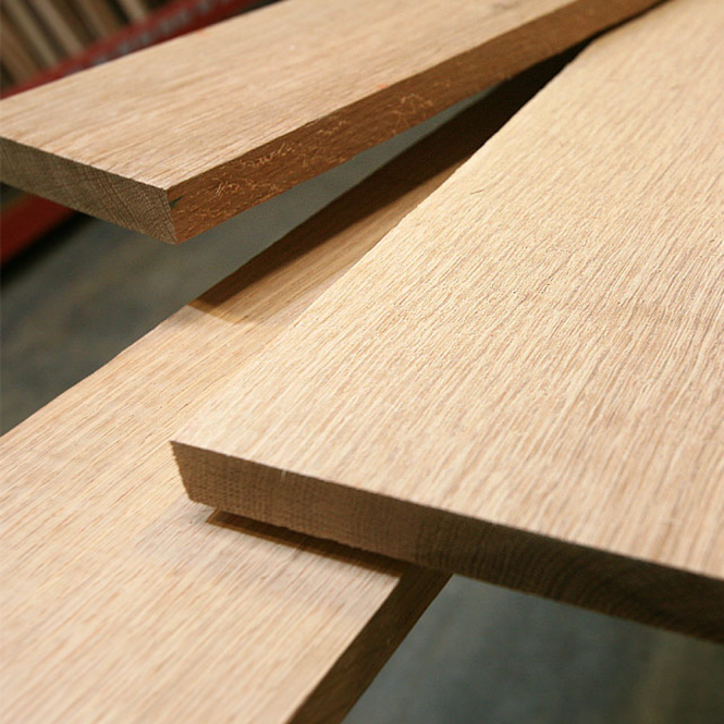 19mm Solid American Red Oak Furniture Board, Red Oak