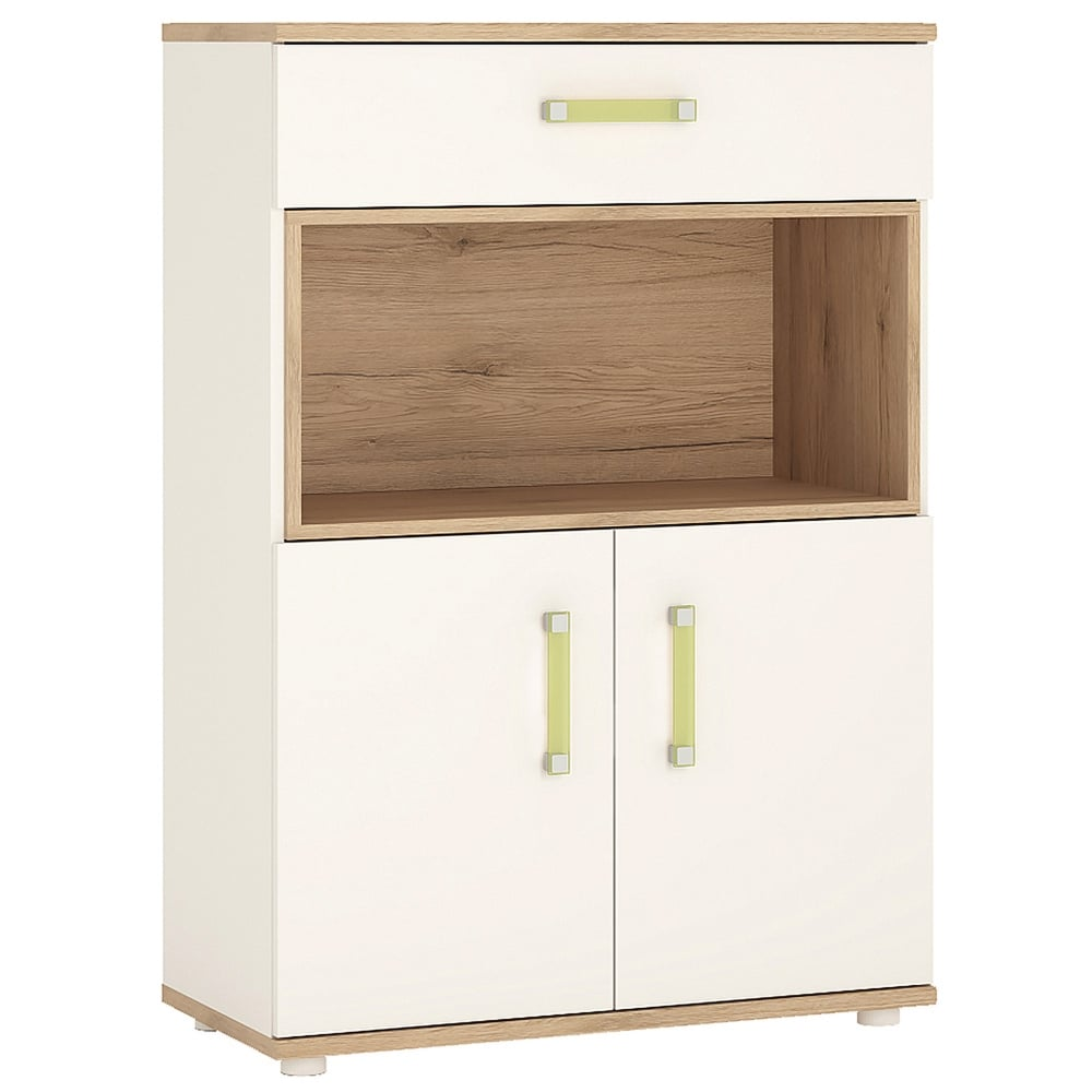 High Gloss Bedroom Cupboards Lemon Bedroom Accessories Toddler Bedroom Curtains Black And White Bedroom Cupboard Designs: Furniture To Go 4KIDS White & Light Oak Cupboard