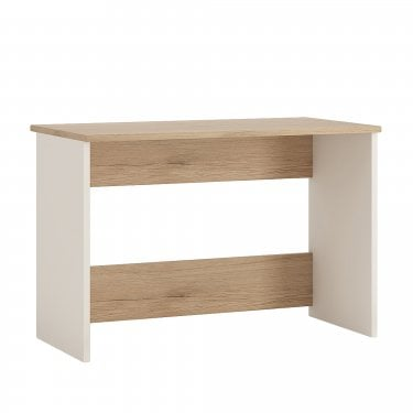 4KIDS High Gloss White & Light Oak Desk