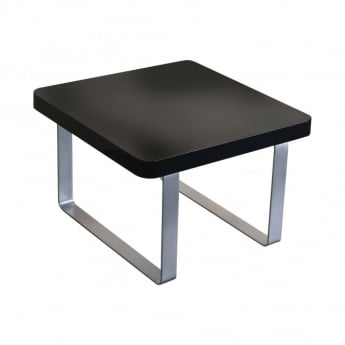 LPD Furniture Accent High Gloss Black End Table