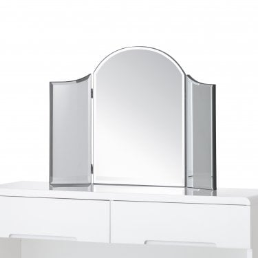 Adley Dressing Table Mirror, Clear Glass
