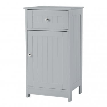 Alaska Grey 1 Drawer 1 Door Storage Unit