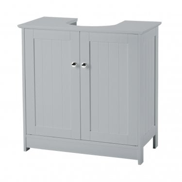 Alaska Grey 2 Door Vanity Sink Unit