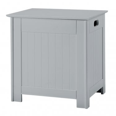 LPD Furniture Alaska Grey Laundry Box (ALASKAGREYLAUND)