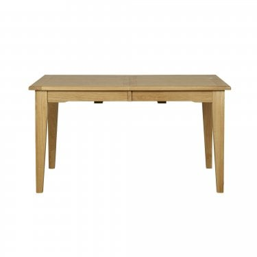 Albert Rectangular Extending Dining Table, Oak