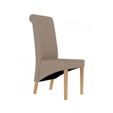 Amelia Beige Dining Chair Pair