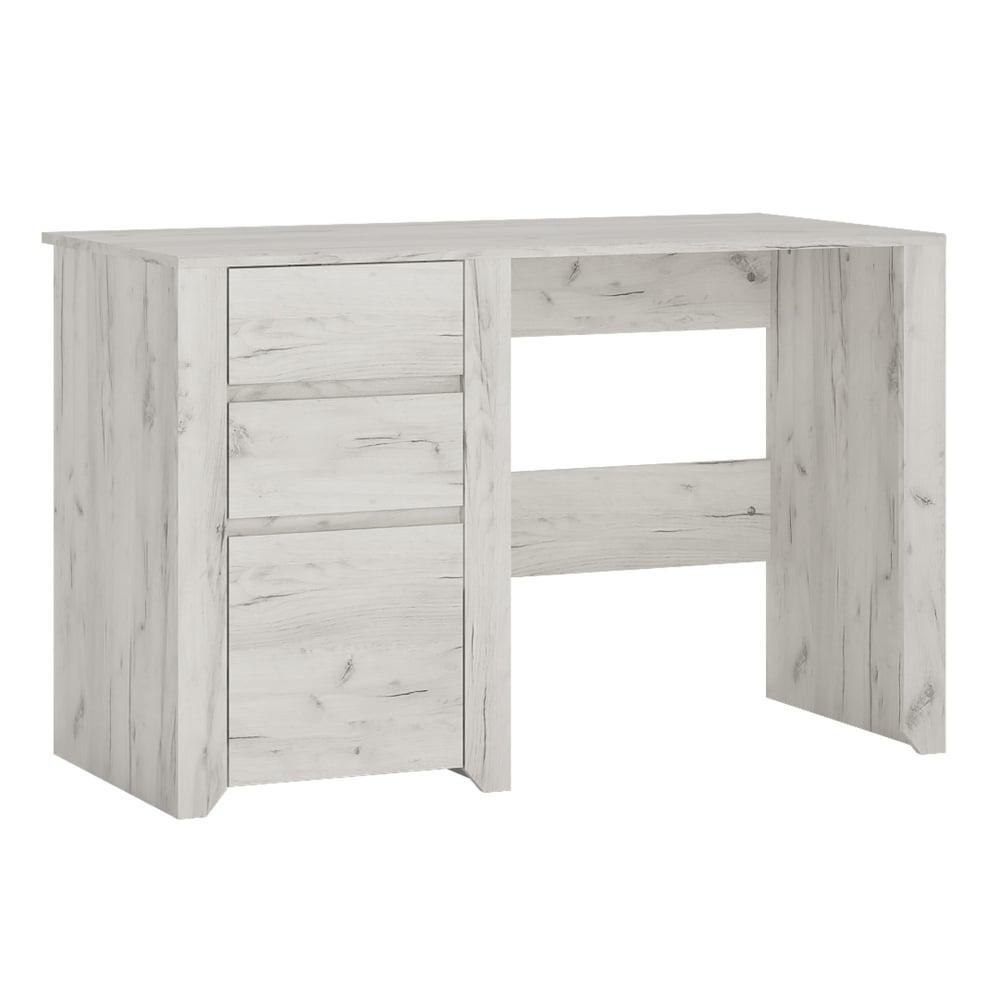 Furniture To Go Angel White Craft Oak Desk
