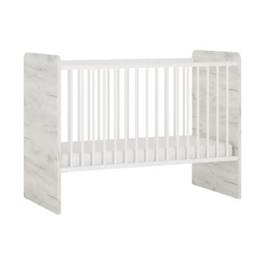 Angel White Craft Oak Cot