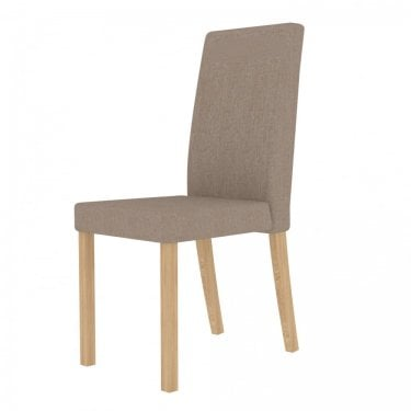 Anna Beige Dining Chair Pair