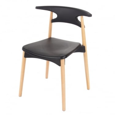 Core Products Aspen ASCH4B Black Chair