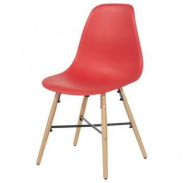 Core Products Aspen ASCH6R Red Chair