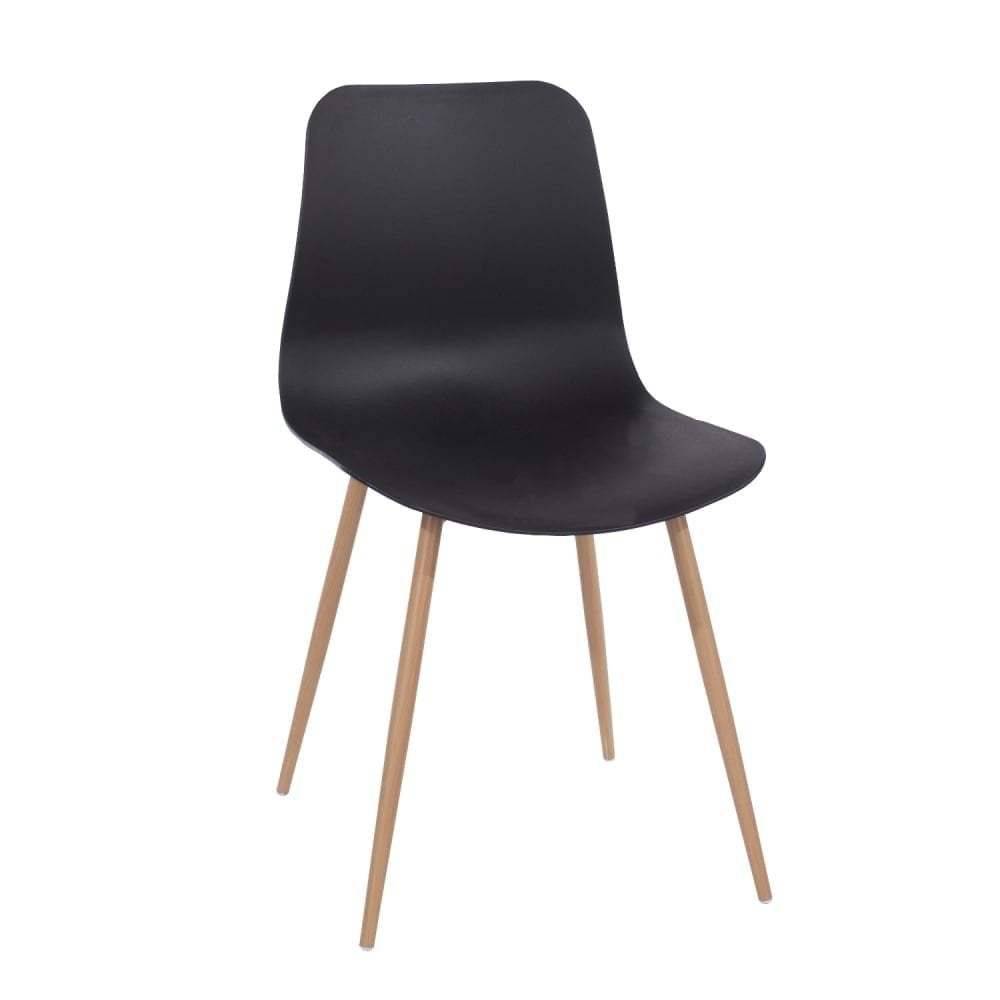 Core Products Aspen Black Plastic Occasional Chair Pair