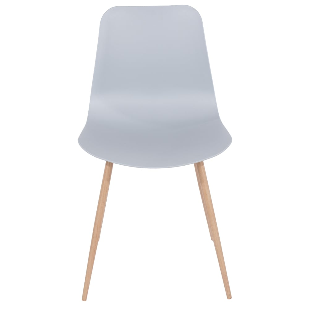 plastic metal chairs. Core Products Aspen Grey Plastic Occasional Chair With Wood Effect Metal Legs (ASCH7G) Chairs T