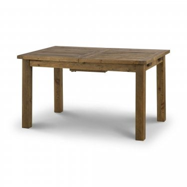 Aspen Rustic Pine Extending Dining Table