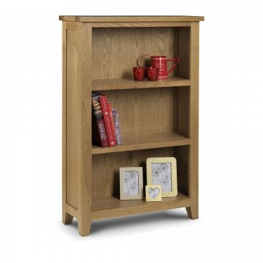 Astoria Low Bookcase, Oak