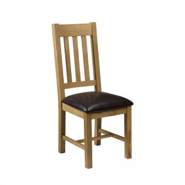 Astoria Waxed Oak Dining Chair