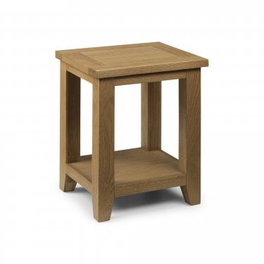 Astoria Waxed Oak End Table