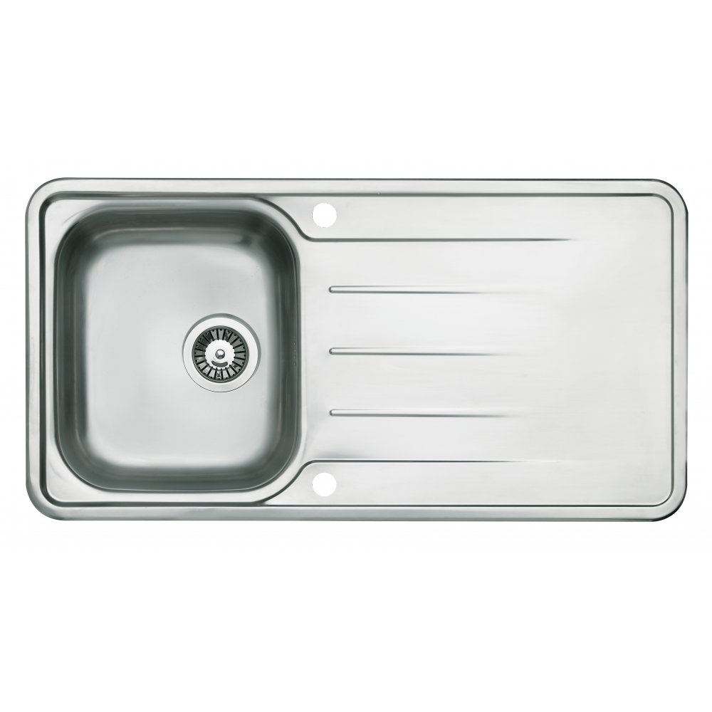 Single Stainless Steel Sink : ... Sinks & Taps ? Astracast Sinks & Taps Topaz Stainless Steel Single