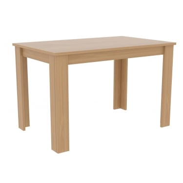 Atlanta Oak Dining Table