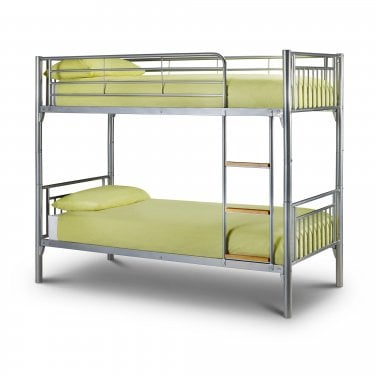 Atlas Silver Single Bunk Bed