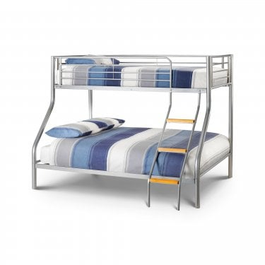 Atlas Silver Triple Sleeper Bunk Bed