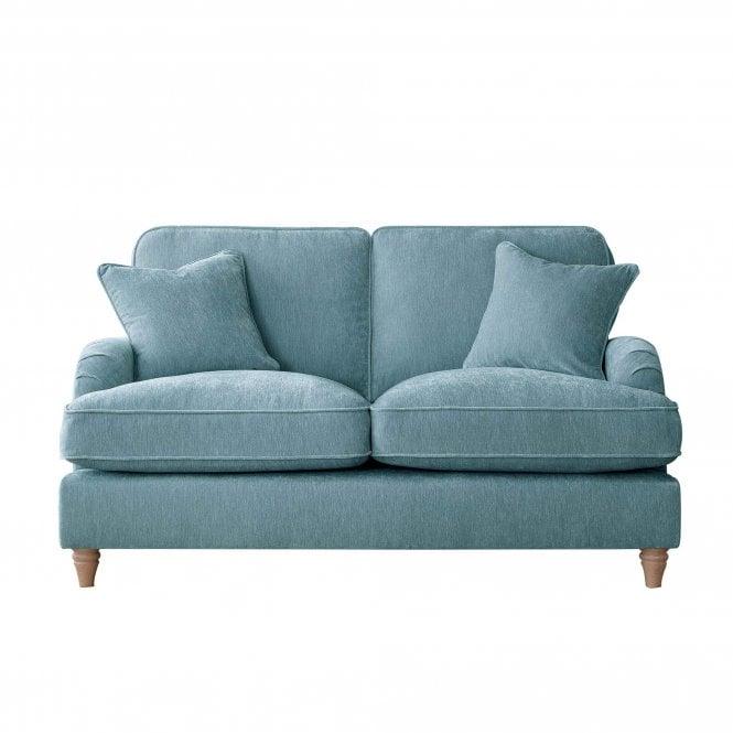 Aurora 2 Seater Sofa, Manhattan Lagoon Velvet