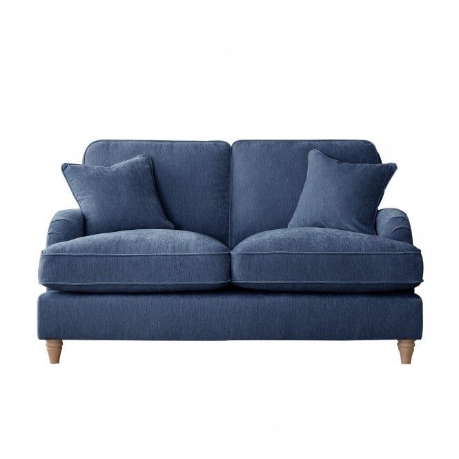 Aurora 2 Seater Sofa, Manhattan Navy Velvet