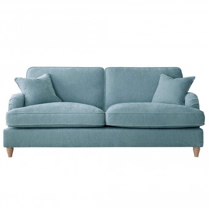 Aurora 3 Seater Sofa, Manhattan Lagoon Velvet