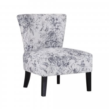 Austen Light Floral Pattern Occasional Chair