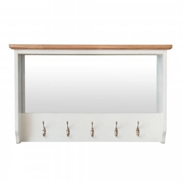Bailey Hanging Unit, White