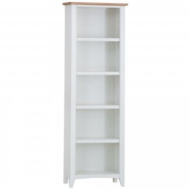 Bailey Large Bookcase, White