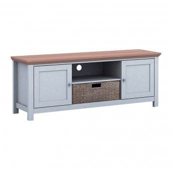 Madeleine Bakersfield 2 Door Tv Unit, Grey & Oak