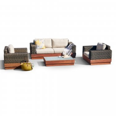 Bali Four Seater Set