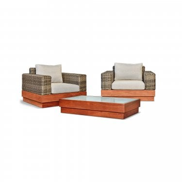 Bali Two Seater Set