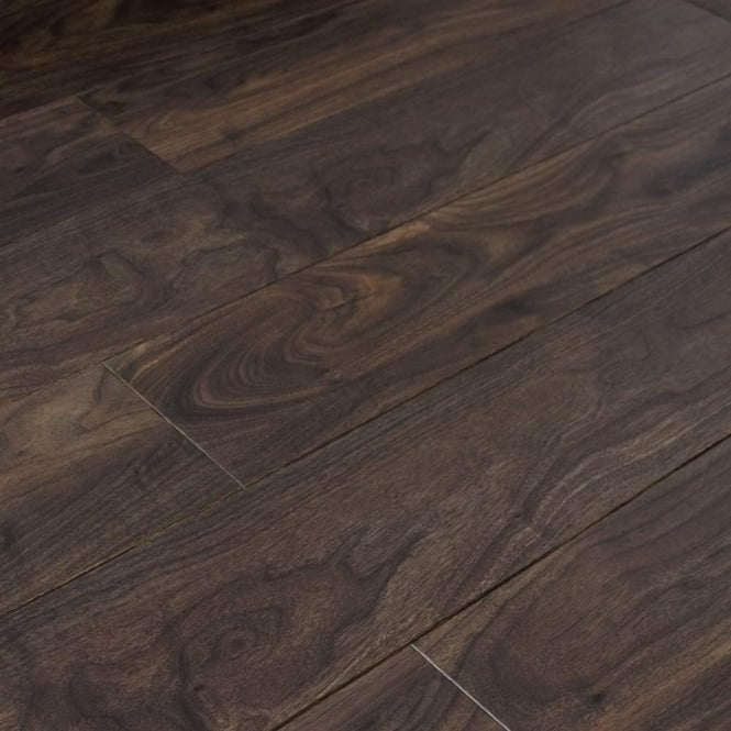 balterio cuatro 8mm dark walnut laminate flooring at