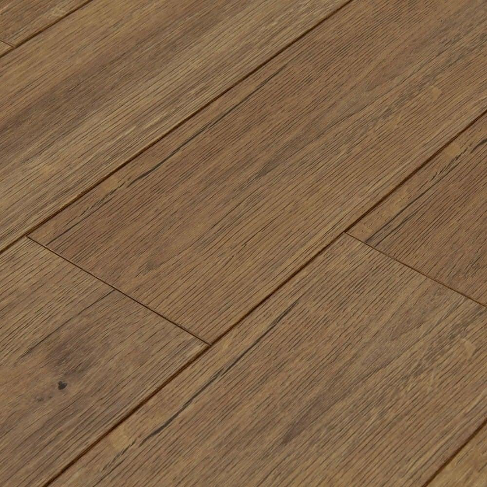 Balterio estrada 8mm sepia oak ac4 laminate flooring for Laminate flooring stores