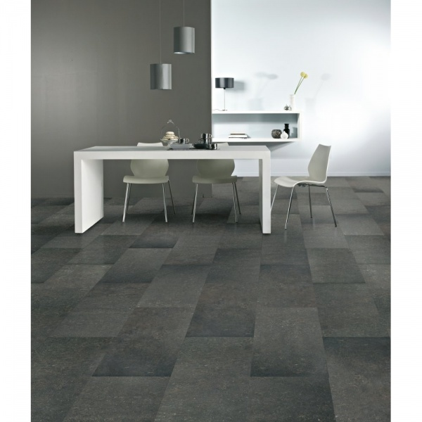 Balterio pure stone tile effect belgian blue honed 4v for Balterio pure stone laminate flooring