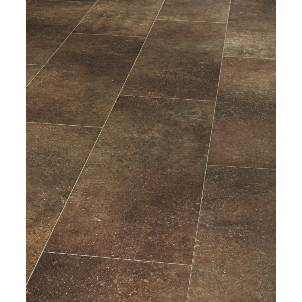 Tile Effect Laminate Flooring In Teesside: Balterio Pure Stone Tile Effect Limestone Tobacco Laminate