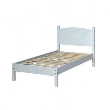 Core Products Banff White Bed Frame