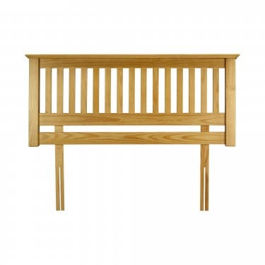 Barcelona Antique Pine Kingsize Headboard