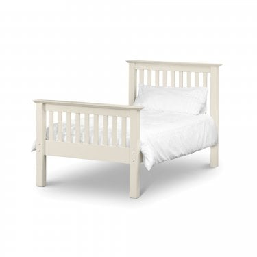 Barcelona Stone White Single High End Bed