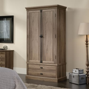 Barrister Salt Oak 2 Door Wardrobe