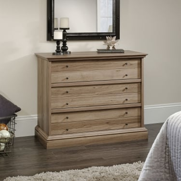 Barrister Salt Oak 3 Drawer Chest