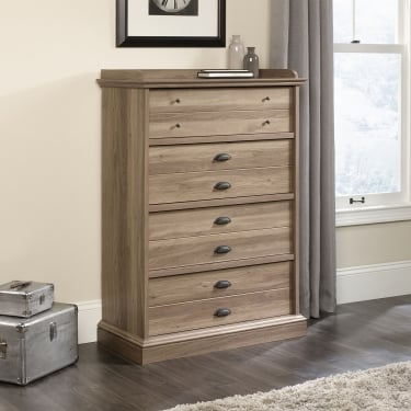 Barrister Salt Oak 4 Drawer Chest