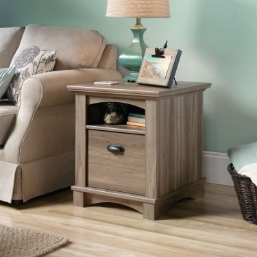 Barrister Salt Oak Side Table