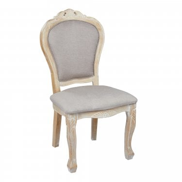 Beaumont Dining Chair Set Of 2, Weathered Oak