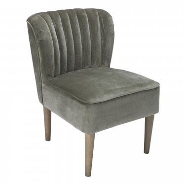 Bella Grey Occasional Chair