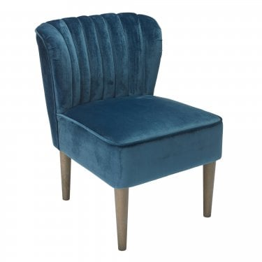 Bella Midnight Blue Occasional Chair