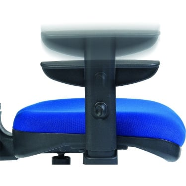 Teknik Black Adjustable Gull Chair Arms (235)